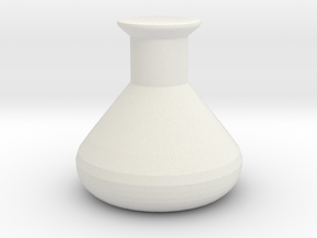 Continuous Corrosion token! in White Natural Versatile Plastic