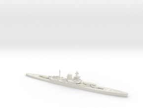 HMS Incomparable 1/2400 in White Strong & Flexible