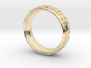 Knight Of The Ring in 14K Yellow Gold