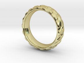 Direction in 18k Gold Plated Brass