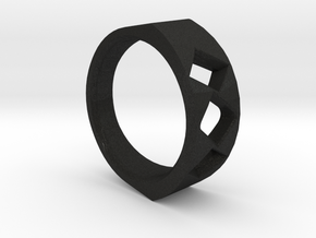 Lite Ring model 2.2 in Black Acrylic
