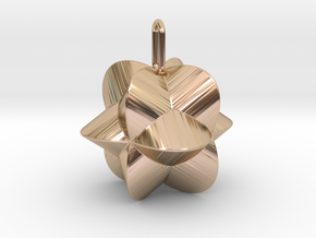 Pendant-c-4-3-20-90 in 14k Rose Gold Plated