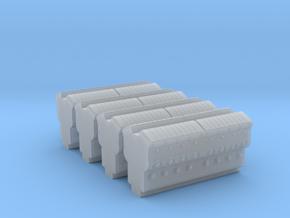 EMD 645 Block (N -1:160) 4X in Smoothest Fine Detail Plastic