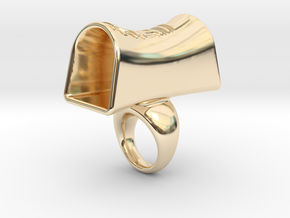 Message of love 14 in 14K Yellow Gold