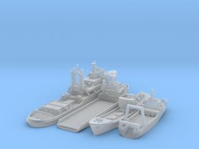 Cod War set 4 1/1250  in Smooth Fine Detail Plastic