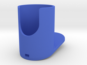 Showerhead Holder tiny  / washbasin - Inner diamet in Blue Processed Versatile Plastic