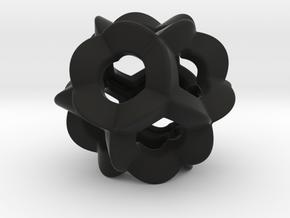 Pendant-c-6-5-10-p1o in Black Natural Versatile Plastic