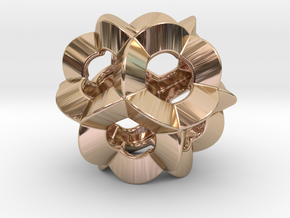 Pendant-c-6-5-20-p1o in 14k Rose Gold Plated Brass