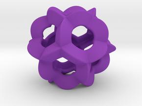 Pendant-c-6-5-20-p1o in Purple Processed Versatile Plastic