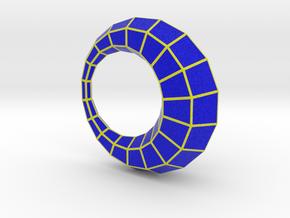0104 Antisymmetric Torus (p=1; u=18; v=6) 5cm #011 in Full Color Sandstone