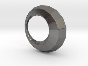 0104 Antisymmetric Torus (p=1; u=18; v=6) 5cm #011 in Polished Nickel Steel