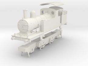 LNER class F4 2.4.2 tank locomotive kit in White Natural Versatile Plastic
