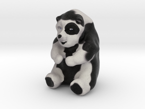 Mildly Obese Panda in Full Color Sandstone