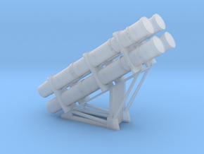 1:72 RGM 84 HARPOON Launcher in Smooth Fine Detail Plastic