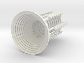 Mars Engine MAX-G in White Natural Versatile Plastic