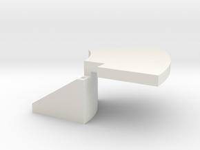 Temperature probe holder for Ca2+ imaging in White Natural Versatile Plastic