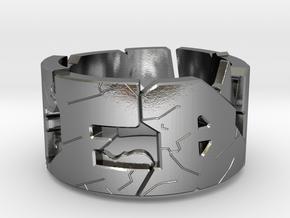 FebCya in Polished Silver