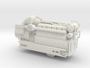 4mm Sulzer 12 LDA 28-C-1 in White Natural Versatile Plastic