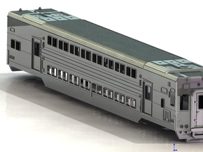 N C3 Cab car in Smooth Fine Detail Plastic