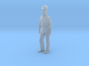 1:20.32 scale Fred with baseball hat in Smooth Fine Detail Plastic
