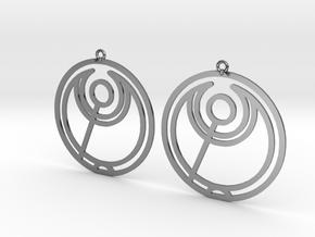 Abbi - Earrings - Series 1 in Premium Silver