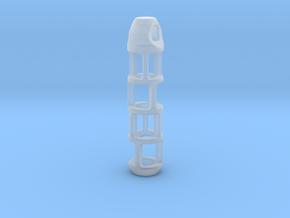 Tritium Lantern 2B (Silver/Brass/Plastic) in Smooth Fine Detail Plastic