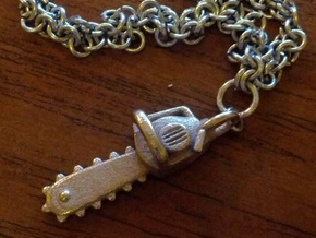 Army of Darkness / Evil Dead Chainsaw charm in White Natural Versatile Plastic