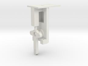 Signal Mech 90 Deg. 1 Arm in White Natural Versatile Plastic
