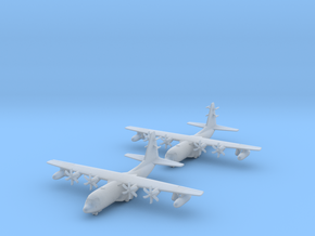 1/700 EC-130J with Gear x2 (FUD) in Smooth Fine Detail Plastic
