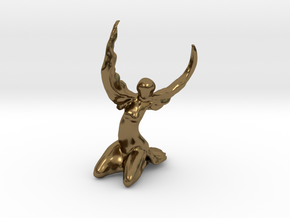 Phoenix in Polished Bronze