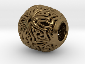 PA CharmV5fD12PE17s1 in Polished Bronze