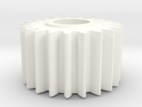 Sinclair C5 Small Cog in White Processed Versatile Plastic