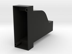 Pressure Gauge Body in Black Natural Versatile Plastic