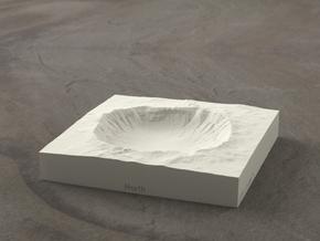 4'' Meteor Crater, Arizona, USA, Sandstone in Sandstone