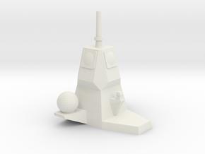 APAR Mast 1/700 in White Natural Versatile Plastic