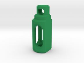 Tritium Pendant 2 (3x11mm Vials) in Green Processed Versatile Plastic