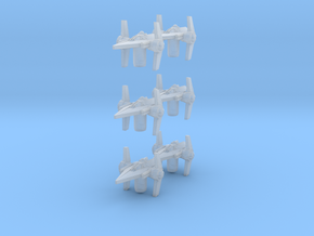 Arm 6 V Fighter in Smooth Fine Detail Plastic