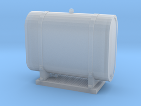 1/50th Water Tank Reservoir for Truck Brakes in Smooth Fine Detail Plastic