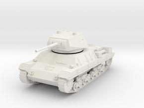 PV60E Italian P40 Heavy Tank (1/56) in White Natural Versatile Plastic