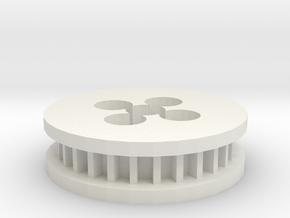 May10 2015 00 41 Quanum 3510 Timing Belt Gear Moun in White Natural Versatile Plastic