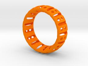 Bracelet classic 65 in Orange Processed Versatile Plastic