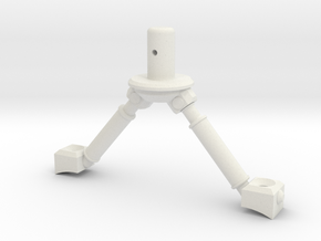 3d Strut Shuttle 3-3 in White Strong & Flexible