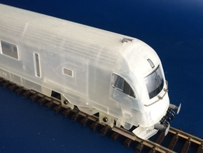 RailJet Steuerwagen_v4 TT 1:120 in Frosted Ultra Detail