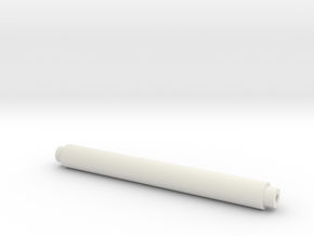 Toilet Paper Roller in White Natural Versatile Plastic