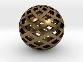 Sphere, Small in Natural Bronze