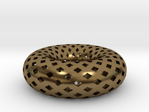 Torus, Small in Polished Bronze