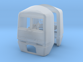 Class 321 Cabs for N Gauge, 1:148th Scale in Smooth Fine Detail Plastic
