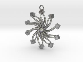 Starfish II in Natural Silver