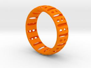 Bracelet classic 75 in Orange Processed Versatile Plastic