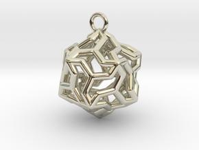 Platonic-5 in 14k White Gold
